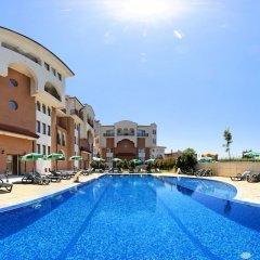 Отель Sunrise Club Apart Hotel Болгария, Равда - отзывы, цены и фото номеров - забронировать отель Sunrise Club Apart Hotel онлайн бассейн фото 4