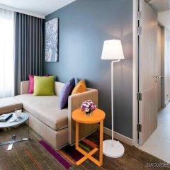 Отель Mercure Bangkok Siam Таиланд, Бангкок - 3 отзыва об отеле, цены и фото номеров - забронировать отель Mercure Bangkok Siam онлайн комната для гостей фото 3
