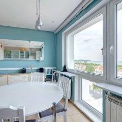 Апартаменты Dom & House - Level Eleven Apartment Sea View балкон
