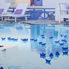 Отель Acqua Vatos Santorini Hotel Греция, Остров Санторини - отзывы, цены и фото номеров - забронировать отель Acqua Vatos Santorini Hotel онлайн бассейн фото 2