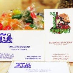 Отель Hostal San Glorio Испания, Сантандер - отзывы, цены и фото номеров - забронировать отель Hostal San Glorio онлайн интерьер отеля