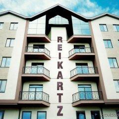 Гостиница Reikartz Medievale Львов вид на фасад