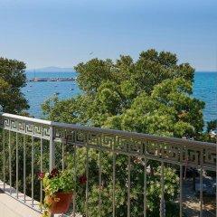 Отель Paradise Hotel Болгария, Поморие - отзывы, цены и фото номеров - забронировать отель Paradise Hotel онлайн балкон