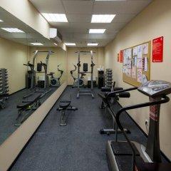 Отель Привет Москва фитнесс-зал