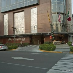 Отель Grand Fiesta Americana Chapultepec парковка