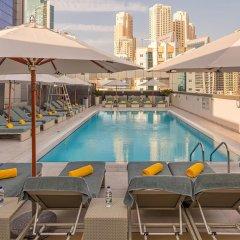 Отель Wyndham Dubai Marina Дубай бассейн