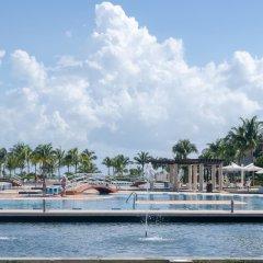 Отель Mareazul Family Beach Condohotel Плая-дель-Кармен приотельная территория