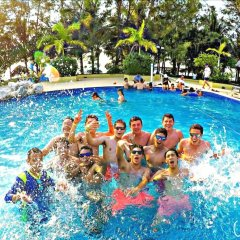 Отель La Ensenada Beach Resort - All Inclusive Гондурас, Тела - отзывы, цены и фото номеров - забронировать отель La Ensenada Beach Resort - All Inclusive онлайн бассейн фото 2