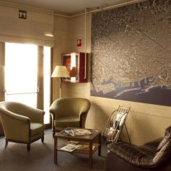 Отель Hostal Abrevadero интерьер отеля