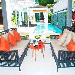 Отель Skylight 2 bedrooms New Villa in Kamala бассейн фото 3