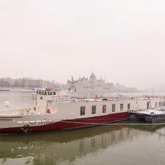 Отель OnRiver Hotels - MS Cezanne Будапешт приотельная территория