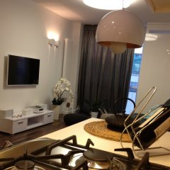 Отель Accommodo Apartament Emilii Plater Польша, Варшава - отзывы, цены и фото номеров - забронировать отель Accommodo Apartament Emilii Plater онлайн комната для гостей фото 5