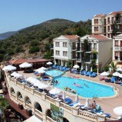 Pirat Турция, Калкан - отзывы, цены и фото номеров - забронировать отель Pirat онлайн бассейн