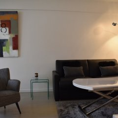 Апартаменты Studio Apartment Near Trocadéro & Champs Elysées комната для гостей фото 5
