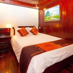 Отель Aclass Cruise Halong Вьетнам, Халонг - отзывы, цены и фото номеров - забронировать отель Aclass Cruise Halong онлайн комната для гостей фото 2