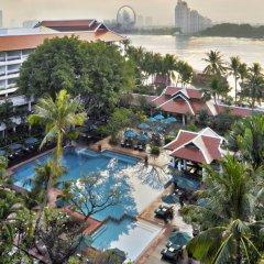 Отель Anantara Riverside Bangkok Resort Таиланд, Бангкок - отзывы, цены и фото номеров - забронировать отель Anantara Riverside Bangkok Resort онлайн бассейн фото 2