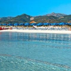 Hotel Le Mimose пляж фото 2