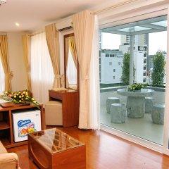 Nam Hung Hotel сейф в номере