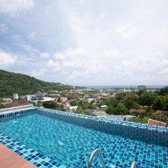 Отель Splendid Sea View Resort пляж Ката бассейн