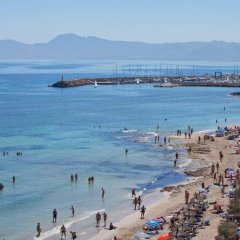 Hotel JS Miramar пляж фото 2