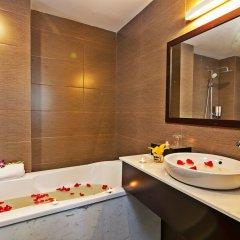 Отель Hoang Ha Sapa Hotel Вьетнам, Шапа - отзывы, цены и фото номеров - забронировать отель Hoang Ha Sapa Hotel онлайн ванная