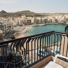 Отель Calypso Hotel Мальта, Зеббудж - отзывы, цены и фото номеров - забронировать отель Calypso Hotel онлайн балкон