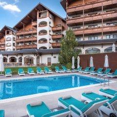 Отель Kempinski Hotel Grand Arena Болгария, Банско - 2 отзыва об отеле, цены и фото номеров - забронировать отель Kempinski Hotel Grand Arena онлайн бассейн фото 3