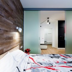 Гостиница CityApartments Lukianivska комната для гостей фото 2