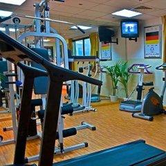 Отель Delmon Palace Дубай фитнесс-зал