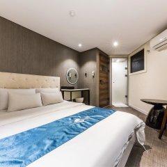 Hotel The Blue Cheonho комната для гостей