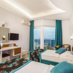 Kleopatra Ada Beach Hotel комната для гостей фото 5