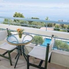 Отель Alexandros Hotel - All Inclusive Греция, Корфу - отзывы, цены и фото номеров - забронировать отель Alexandros Hotel - All Inclusive онлайн балкон