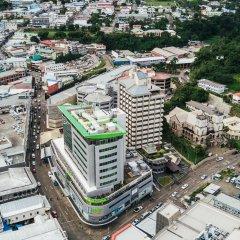 Апартаменты Quest Apartments Suva городской автобус