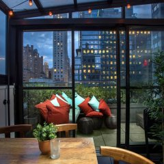 Отель 6 Columbus Central Park a Sixty Hotel США, Нью-Йорк - отзывы, цены и фото номеров - забронировать отель 6 Columbus Central Park a Sixty Hotel онлайн интерьер отеля фото 2