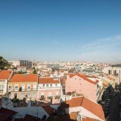 Botânico Hotel Лиссабон балкон