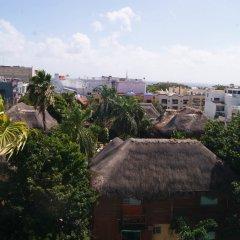 Отель Costa Fina Oceanview Penthouse Мексика, Плая-дель-Кармен - отзывы, цены и фото номеров - забронировать отель Costa Fina Oceanview Penthouse онлайн пляж