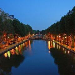 Отель Le Canal Париж приотельная территория