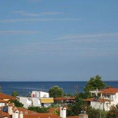 Отель Villa Maria пляж