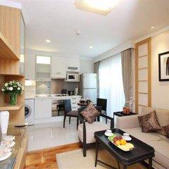 Апартаменты Montara Serviced Apartment Thonglor 25 Бангкок комната для гостей фото 4