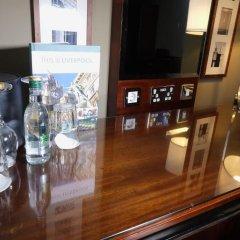 Отель Crowne Plaza Liverpool - John Lennon Airport Великобритания, Ливерпуль - отзывы, цены и фото номеров - забронировать отель Crowne Plaza Liverpool - John Lennon Airport онлайн удобства в номере фото 2