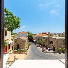 Апартаменты New Studio Flat In Old Town Rhodes Родос балкон