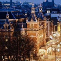 Amsterdam Marriott Hotel городской автобус