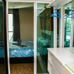 Апартаменты Sixty Six Pattaya Beach Road Apartment Паттайя ванная