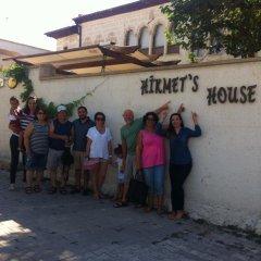 Отель Hikmet's House Аванос приотельная территория