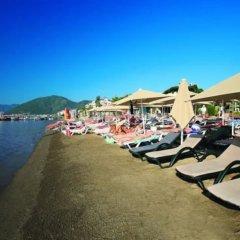 Orka Nergis Beach Hotel Турция, Мармарис - отзывы, цены и фото номеров - забронировать отель Orka Nergis Beach Hotel онлайн пляж