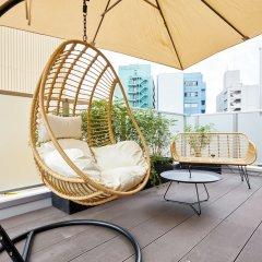 mizuka Hakata 1 -unmanned hotel- Хаката балкон