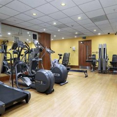 Отель Hilton London Canary Wharf фитнесс-зал фото 4
