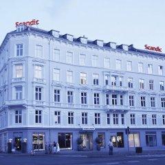 Отель Scandic Webers Копенгаген вид на фасад