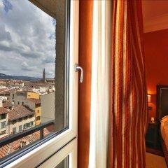 Отель Grand Hotel Adriatico Италия, Флоренция - 8 отзывов об отеле, цены и фото номеров - забронировать отель Grand Hotel Adriatico онлайн балкон