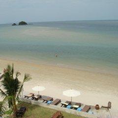 Отель Lanta Pura Beach Resort пляж